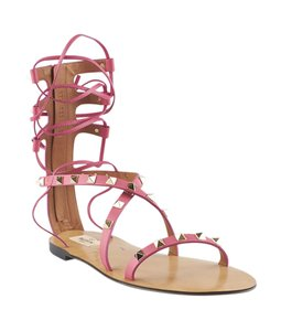 Valentino Leather Pink Sandals