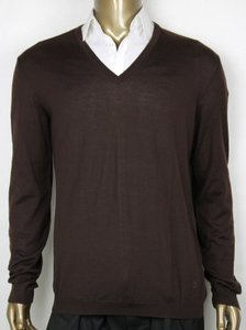 Gucci Brown Pull-over Cashmere Sweater Interlocking G Xxl 232172 2060 Groomsman Gift