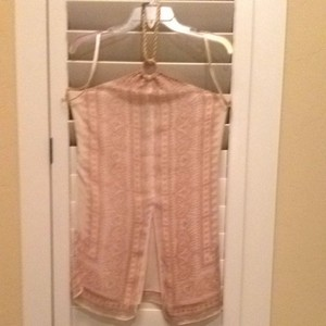 Lauren Ralph Lauren Top Muted Pink, Red, Ecru