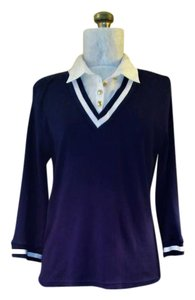 Studio Works Office Ready Transitional Top Navy