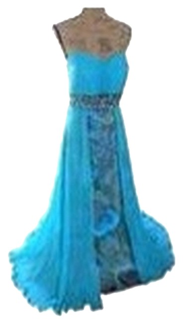 Preload https://img-static.tradesy.com/item/2205633/tony-bowls-aqua-formal-dress-size-16-xl-plus-0x-0-0-650-650.jpg