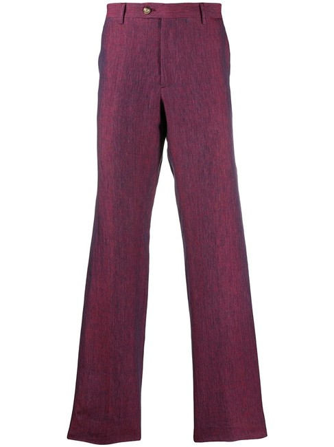 Item - Purple Made In Italy Wool Pants Size 10 (M, 31)