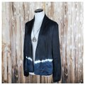Gypsy05 Blue, Black Blazer
