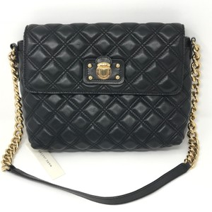 Marc Jacobs Quilted Leather Chainlink Shoulder Bag