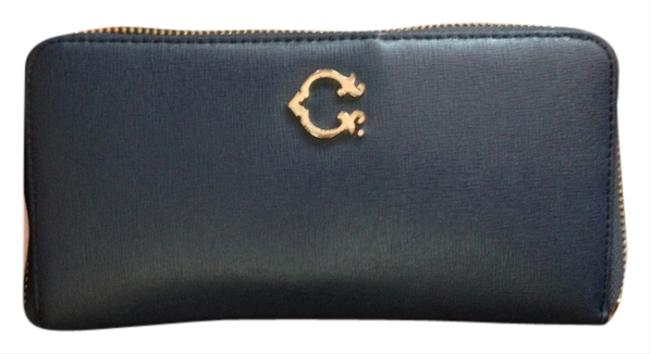 Blue/Gold Continental Zip Wallet Image 1