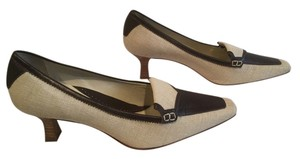 Carole Little Business Style Tan and brown Pumps