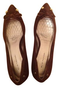 Elie Tahari chocolate brown Pumps