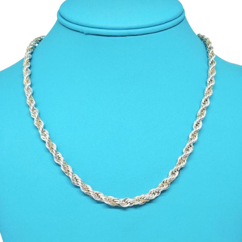 8d0e7fc27 Tiffany & Co. Tiffany & Co. Sterling Silver and 18 Karat Yellow Gold Twisted  ...