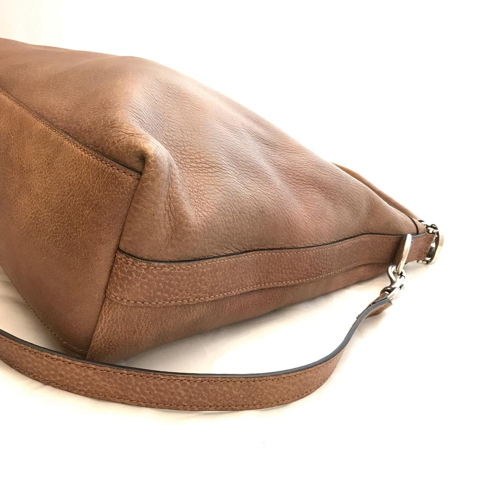 fe9bee5e3 Brown Leather Hobo Handbag With Hardware | The Art of Mike Mignola