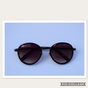 Cole Haan round sunglasses