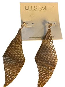 Jules Smith Crimped Mesh Earrings