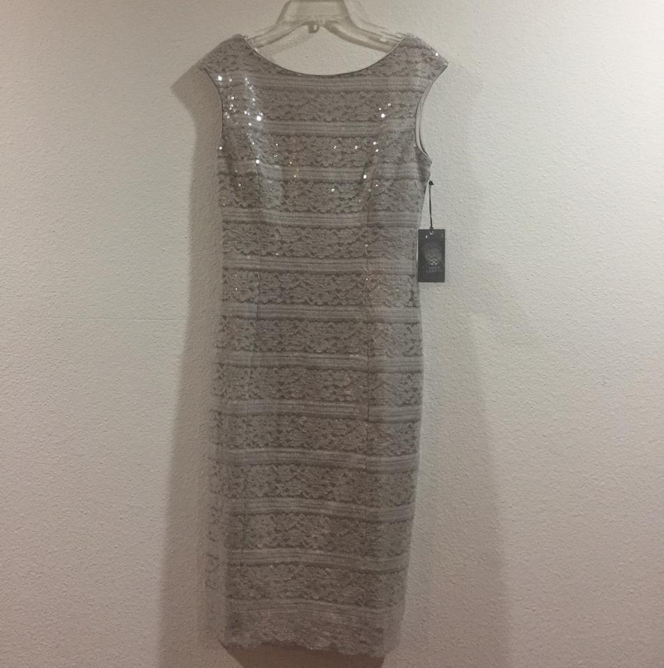b8650051a20f Vince Camuto Lace and Sequin Mid-length Cocktail Dress Size 2 (XS ...