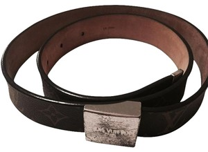 Louis Vuitton Womens Louis Vuitton Monogram Belt