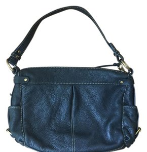 Fossil Pebbled Leather Organized Hobo Bag