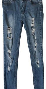 Bullhead Denim Co. Skinny Jeans-Distressed