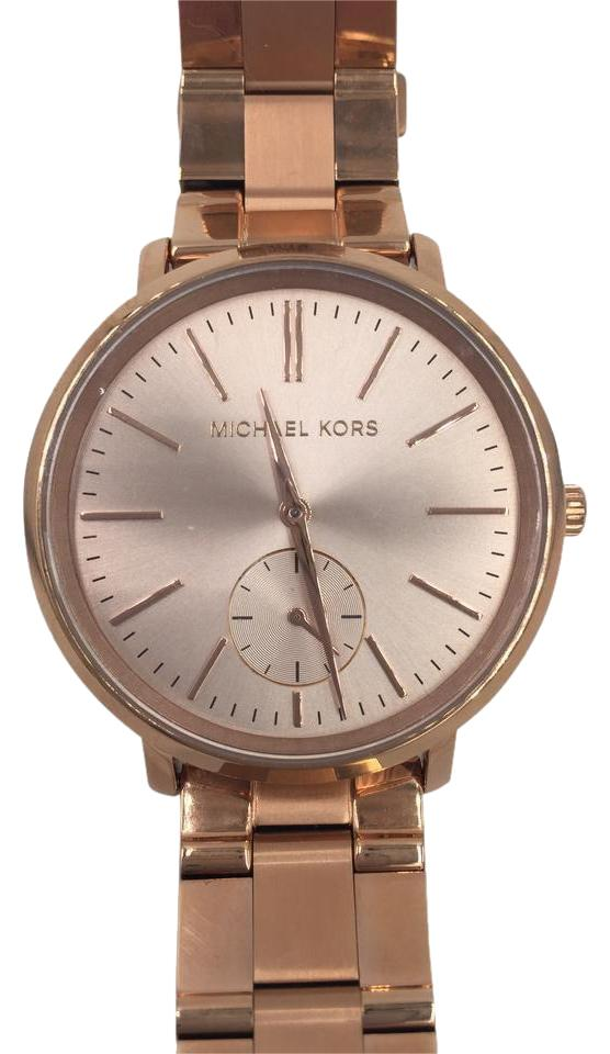 Michael Kors Rose Gold Jaryn Mk 3501 Watch Tradesy