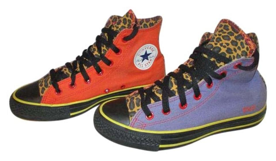 68f49ab644e Converse Multicolor Chuck Taylor Yolo High Top Sneakers. Size  US 8 ...