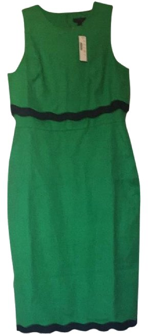 Item - Green Mid-length Cocktail Dress Size 10 (M)