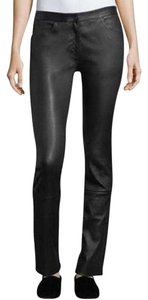 TSE Leather Leg 34 14 Straight Pants Black
