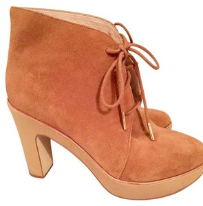 Michael Kors Suede Ankle Suede Brown Boots