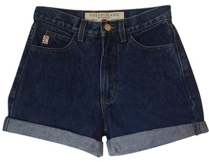Guess Cuffed Shorts Medium dark wash