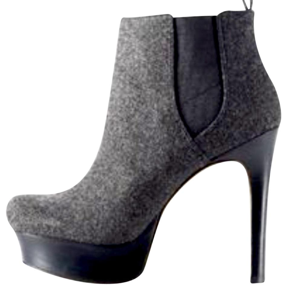 Vince Boots/Booties Camuto Grey Platform Ankle Boots/Booties Vince a55cb0