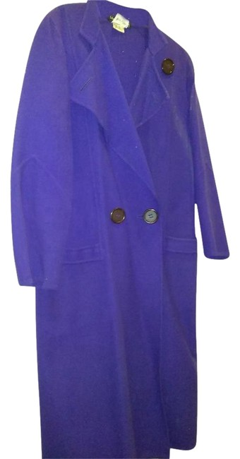 Item - Purple Made In Italy Vintage Coat Size 10 (M)