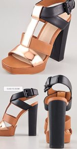 Elizabeth and James Multicolor Sandals