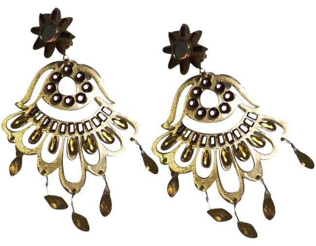 Item - Gold Fiesta Earrings