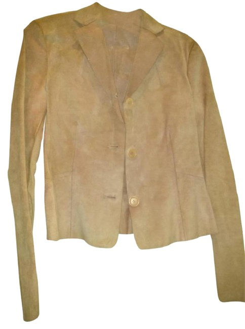 Item - Pink Salmon Made In Italy Leather Jacket Size 6 (S)