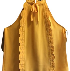 b2d7f42a90dbf Women s Gold Blouses - Up to 90% off at Tradesy