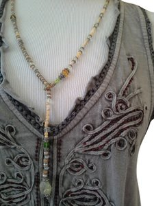 Other Lariat Style Multistone Necklace & Bracelet Set