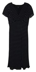 black/white Maxi Dress by Louben