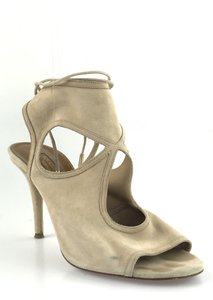 Aquazzura Sexy Thing Nude Sandals