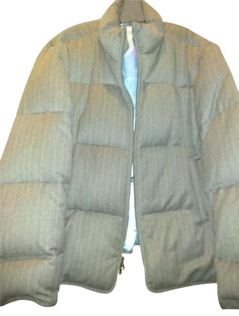 Item - Grey Xxl Puffy Coat Size 22 (Plus 2x)