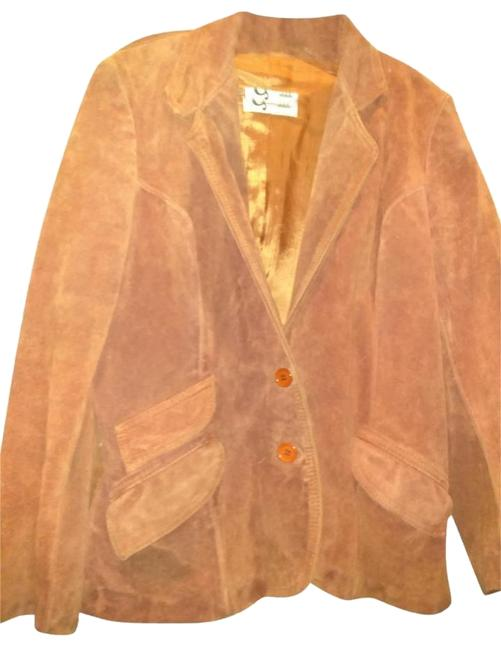 Item - Rust Brown New York Suede Jacket Size 8 (M)