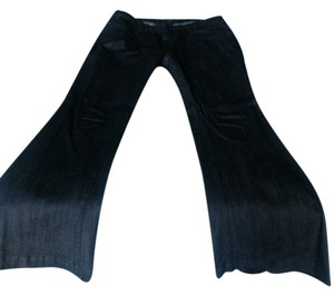A.N.A. a new approach Trouser/Wide Leg Jeans-Dark Rinse