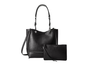 Calvin Klein Reversible New Tote in BLACK/GREY