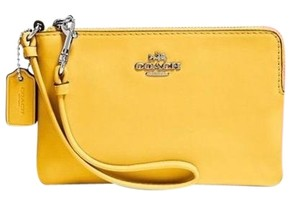 Coach Wristlet in Canary (Yellow)