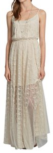 Cream Maxi Dress by Abercrombie & Fitch
