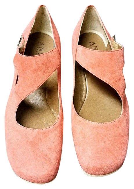 Item - Coral The Shelley-coral Suede Wedges Size EU 37 (Approx. US 7) Regular (M, B)