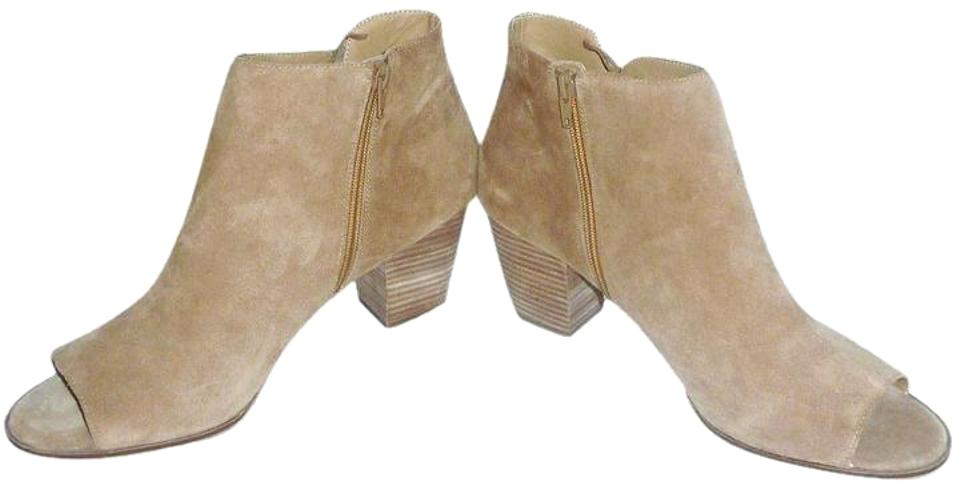 b3c71e84b118 Lucky Brand Honey Oiled Suede Zipper Open 13m Boots Booties Size US ...