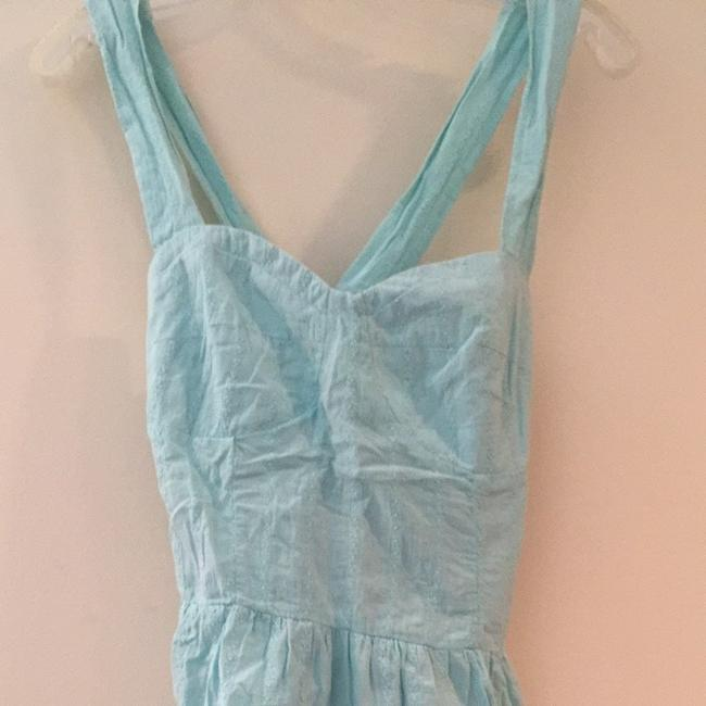Tulle Top Turquoise