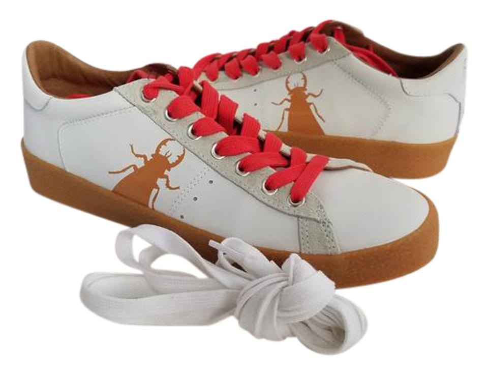 FLY London White/ Beige New Womens Berg823fly Sneakers White/Beige Leather Trainer Sneakers Sneakers Berg823fly 5a1198