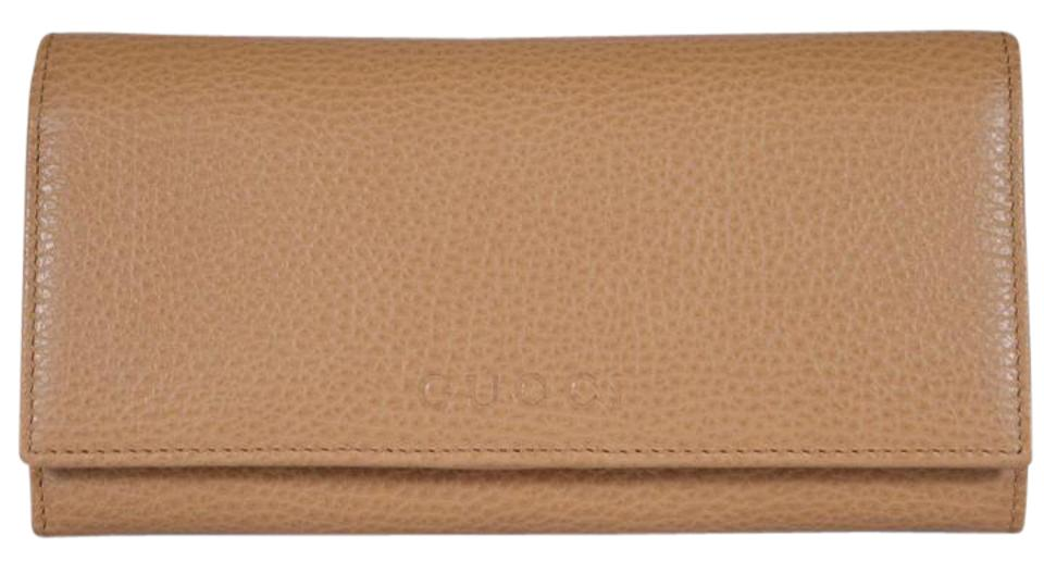 a4e7e5e6601e Gucci Whisky Womens Continental Bifold Leather Made In Italy Wallet ...