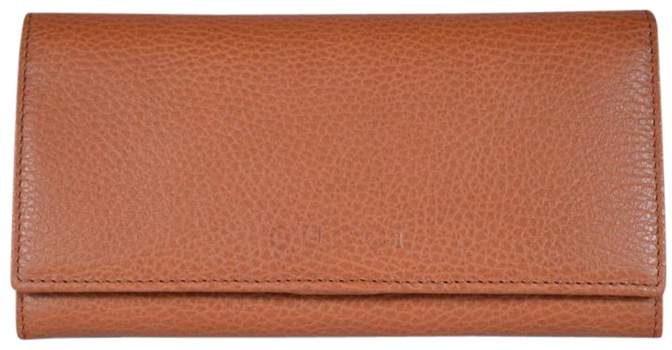 7b9607d9b914 Gucci NIB GUCCI WOMENS CONTINENTAL BIFOLD LEATHER WALLET MADE IN ITALY  Image 0 ...