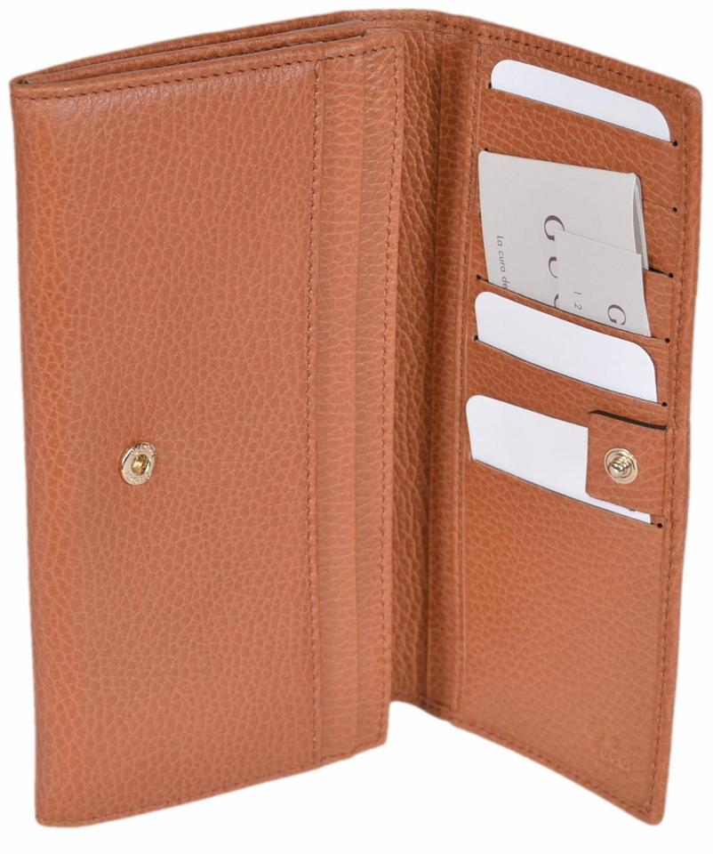 70bf63f4ce0f14 Gucci NIB GUCCI WOMENS CONTINENTAL BIFOLD LEATHER WALLET MADE IN ITALY  Image 5. 123456
