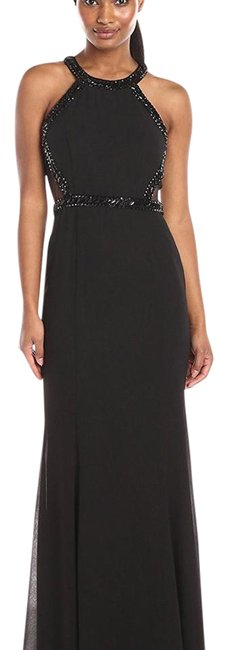 Item - Black Bodice Beaded Gown Long Formal Dress Size 4 (S)