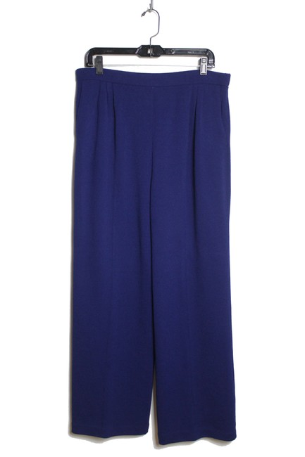 Item - Blue Collection Santana Knit Pleated Leg Pull-on Pants Size 12 (L, 32, 33)