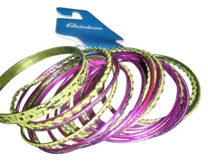 Rainbow Shops Stackable Bangle Bracelets